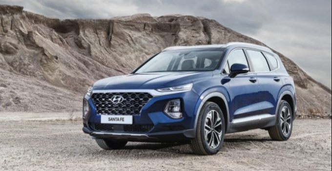 2019 Hyundai Santa Fe Exterior