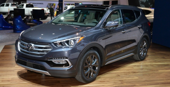 2020 Hyundai Santa Fe Exterior