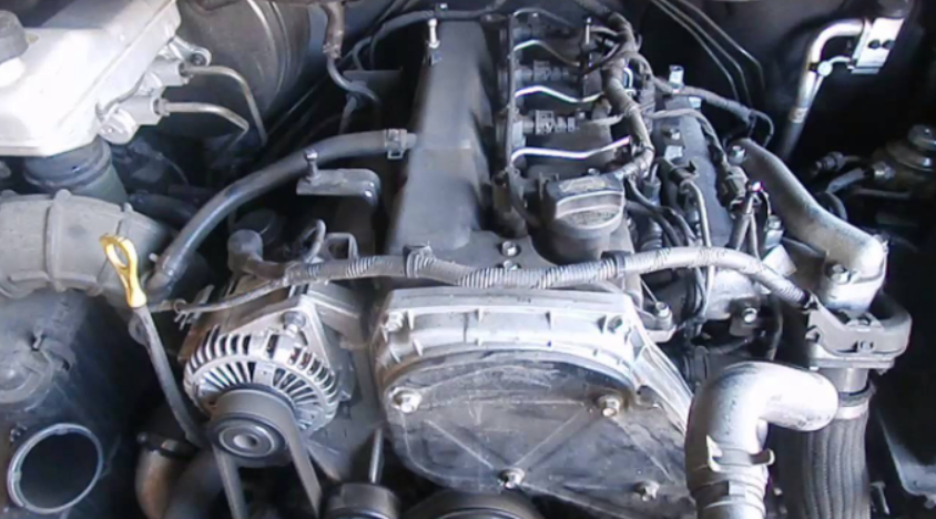 2019 Hyundai iload Engine