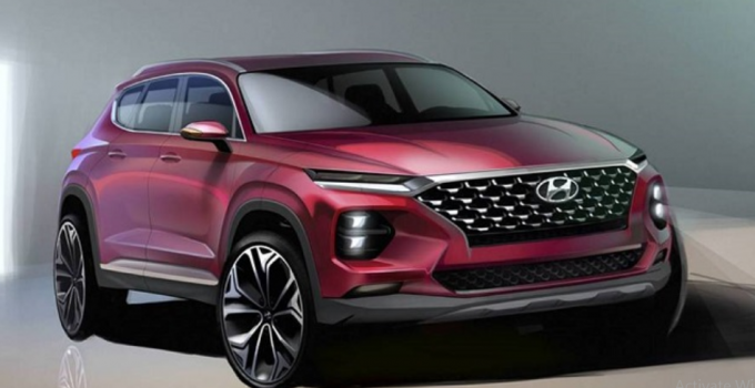 Hyundai Santa Fe 2019 1